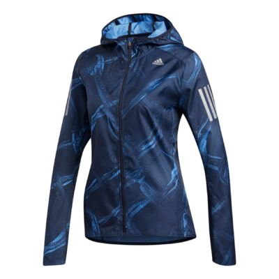 ADIDAS NŐI OWN THE RUN GRAPHIC JACKET
